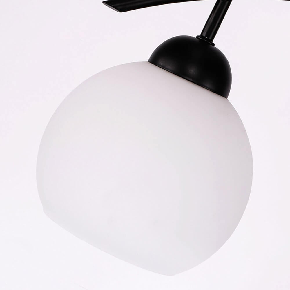 White Frosted Glass Lampshade