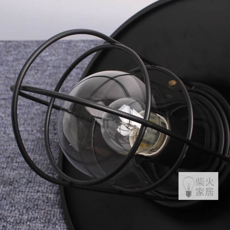 Clear Glass inner lampshade